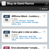 El blog ya es iphone-friendly, HTML5, youtube y lightbox 1