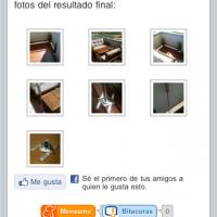 Galería de imágenes adaptada al iPhone