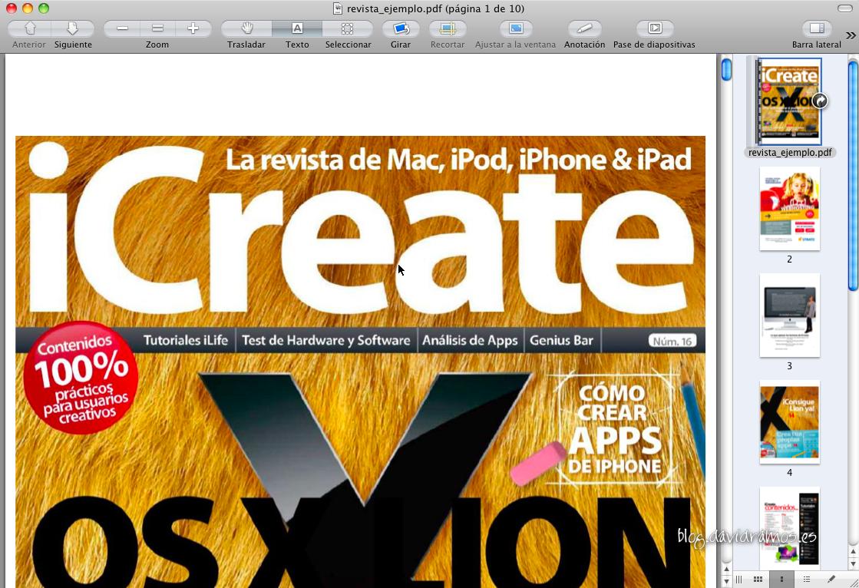 El nuevo PDF